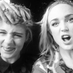 Avec Emily en 2014