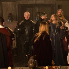 Le chevalier noir de la légende Arthurienne
