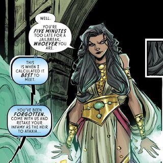 Selena dans les comics