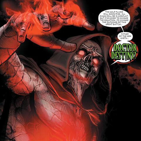 Doctor Destiny dans les comics