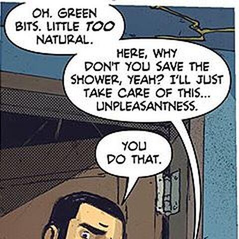Oliver dans les comics.