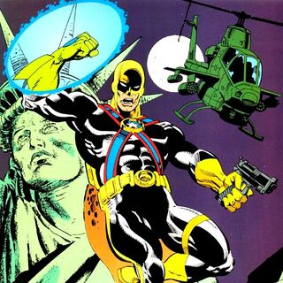 Benjamin Lockwood / Agent Liberty dans les comics.