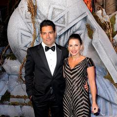 Avec sa femme Karin Horen à l'avant-première du Hobbit 3