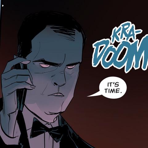 Cyrus Broderick dans les comics