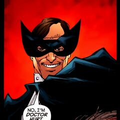 Simon Hurt dans les comics