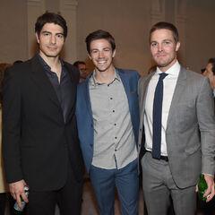 Aux Upfronts 2015 avec Grant et Stephen