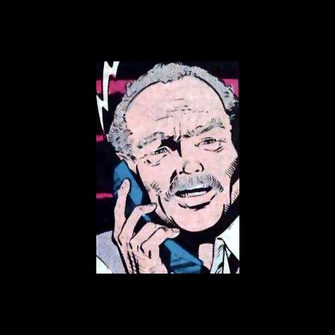 Mister Gilchrist dans les comics