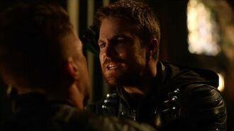 Oliver Refuses To Kill Prometheus Arrow 5x23 1080p 60fps Blu-Ray