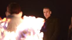 Ricardo Diaz sets Jesse Federico on fire