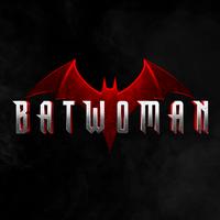 Batwoman-logo avec fond