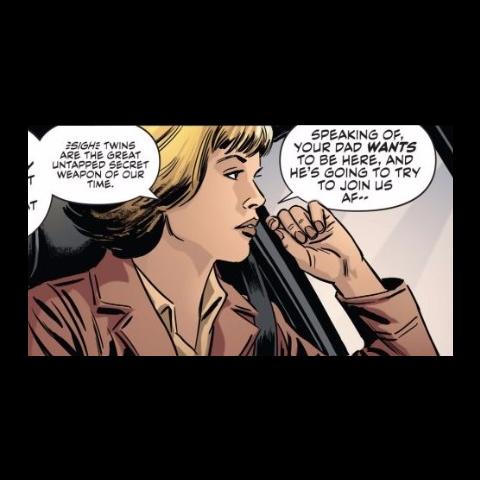Gabrielle Kane dans les comics.