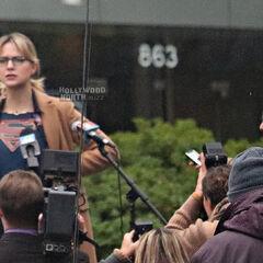 Kara révèle être Supergirl??????