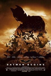 Batman begins affiche du film