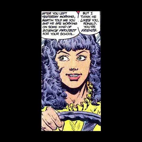 Clarissa clemens qui deviendra Clarissa Stein dans The Flash.