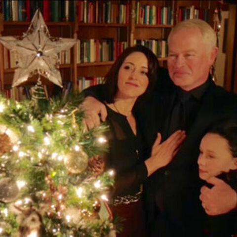 La famille à Noël