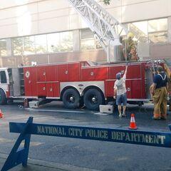 Pompiers et policiers