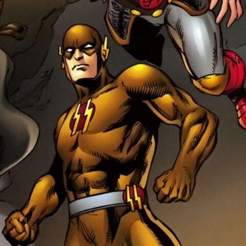 Flash de Terre X Dans les comics.
