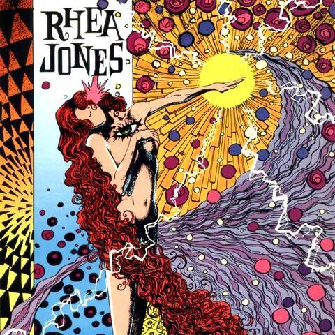 <b>Rhea Jones</b> dans les comics
