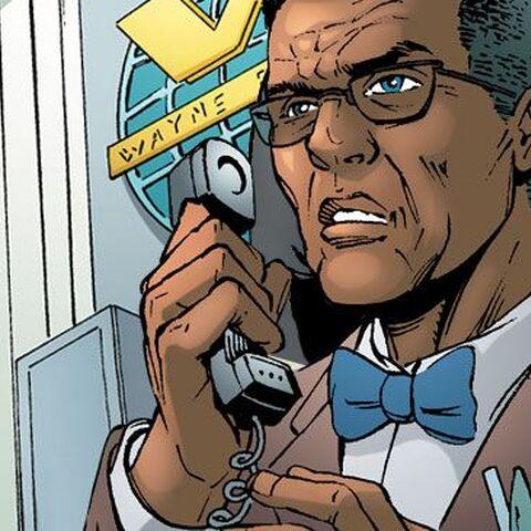 Lucius Fox dans les comics.