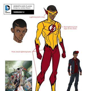 Wally West dans les comics