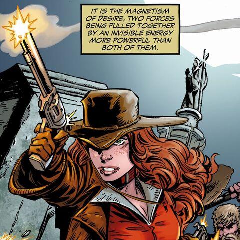 Katherine Manser alias Cinnamon dans les comics