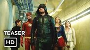 DCTV Crisis on Earth-X Crossover Teaser - The Flash, Arrow, Supergirl, DC's Legends of Tomorrow (HD)-0
