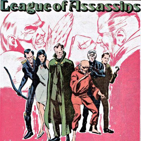 La Ligue des Assassins dans les comics.