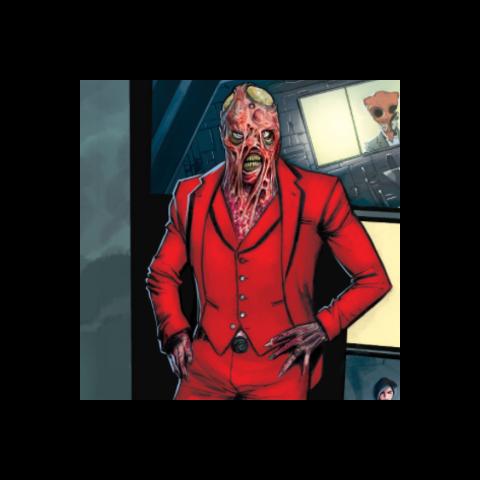 Dante dans les comics.