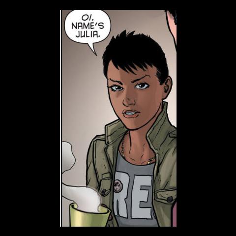 Julia Pennyworth dans les comics.