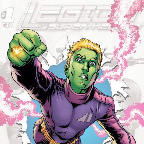 Brainiac-5 dans les comics