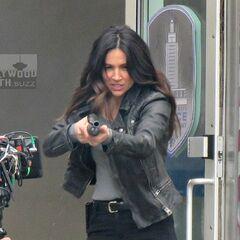 Maggie, badass!