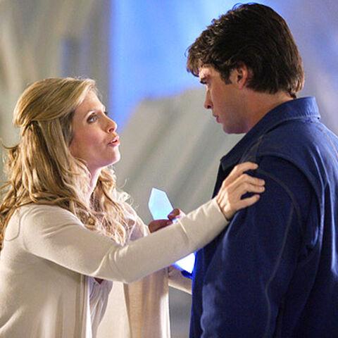 Lara Lor-Van dans la série Smallville