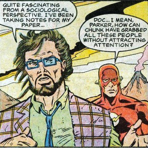 Jarrett Parker dans les comics