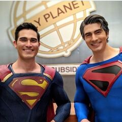 Superman (de Supergirl) et Superman (Kingdom Come)