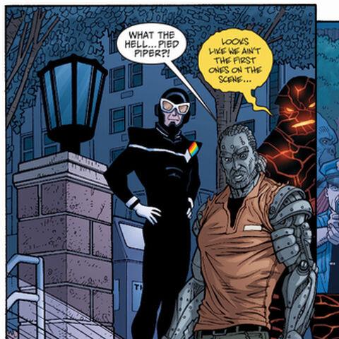 Tony Woodward dans les comics.