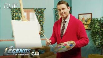 DC's Legends of Tomorrow Mr. Parker Painting The CW