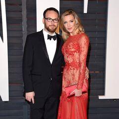 Aux Oscars 2015 avec Dana Brunetti chez Vanity Fair