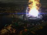 Explosion de l'accélérateur de particules