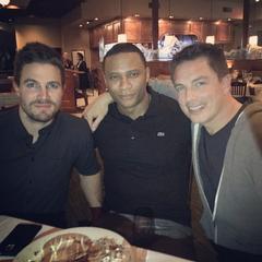 Avec Stephen & David au Texas pour le Dallas Comic Con 2015