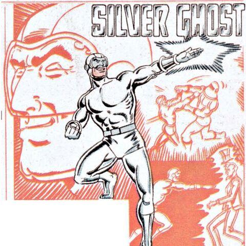Silver Ghost dans les comics
