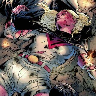 <b>Overgirl</b> dans les Comics