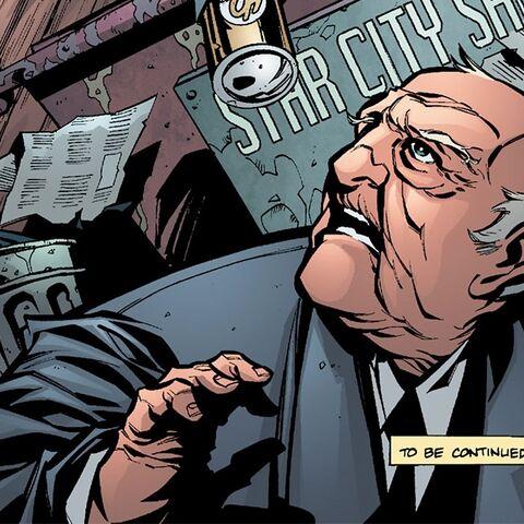 Stanley Dover Sr. dans les comics
