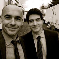 Sur le tournage de la saison 3 avec Paul