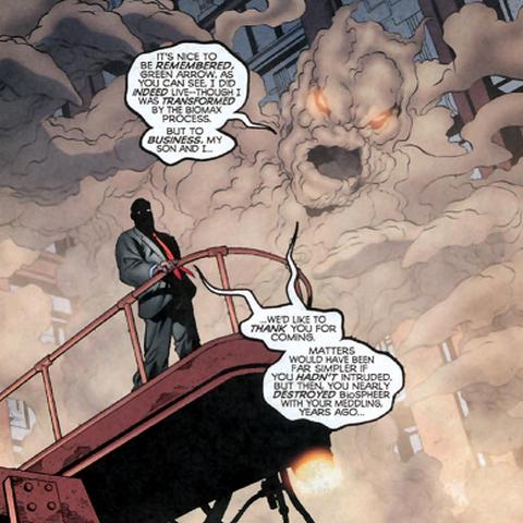 Biomax dans les comics.