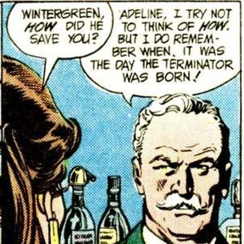 William Randolph Wintergreen dans l'univers DC Comics