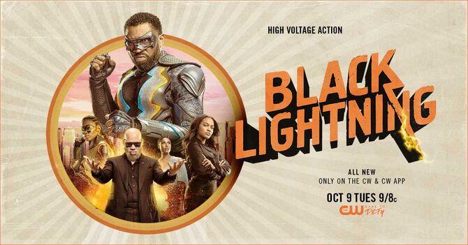Wallpaper Black Lightning season 2