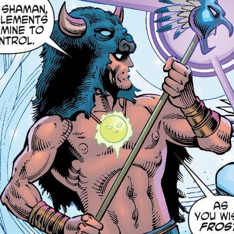 Black Bison dans les comics
