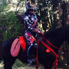 ATOM sur un cheval (dans l'épisode <a href=