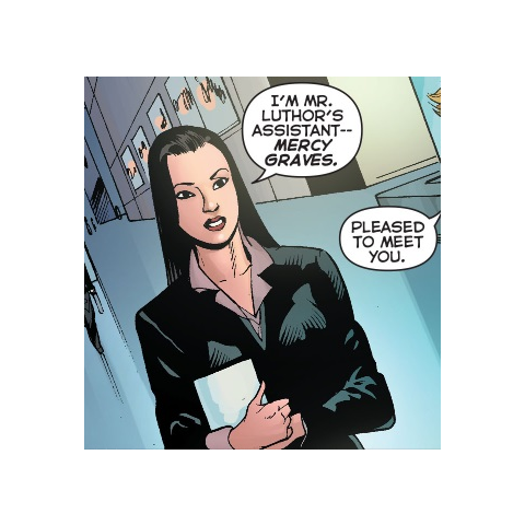Mercy Graves dans les comics