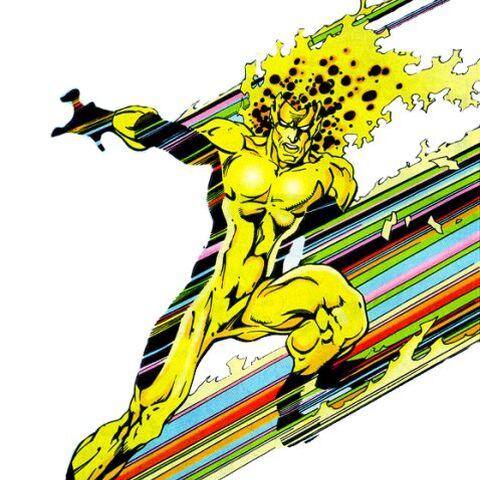 Matthew Ryder / Waverider dans les Comics